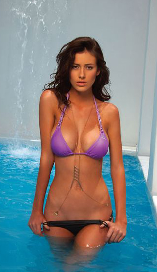 Alejandra Guilmant in a bikini