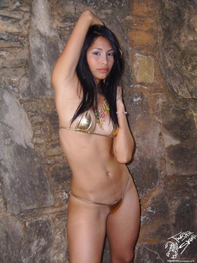 Ruth Medina in a bikini