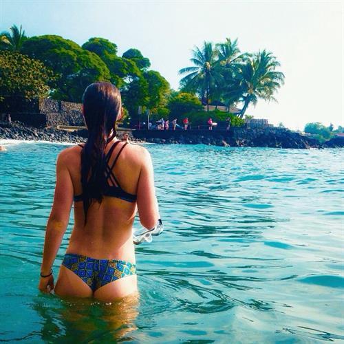 Tanya Poppett in a bikini - ass