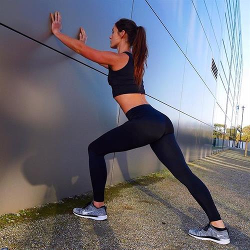 Tanya Poppett in Yoga Pants - ass
