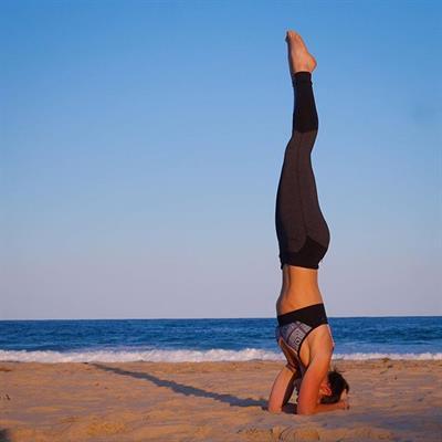 Tanya Poppett in Yoga Pants