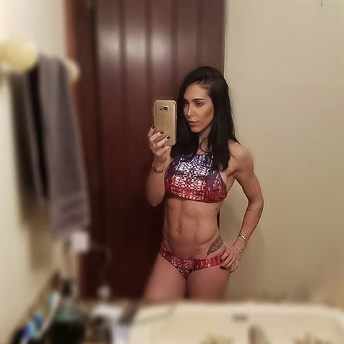 Bella Falconi taking a selfie