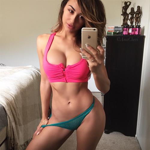 Ana Cheri in a bikini