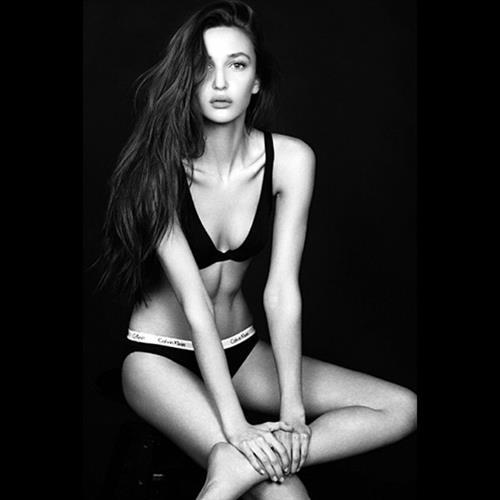 Ariane Fournier in a bikini