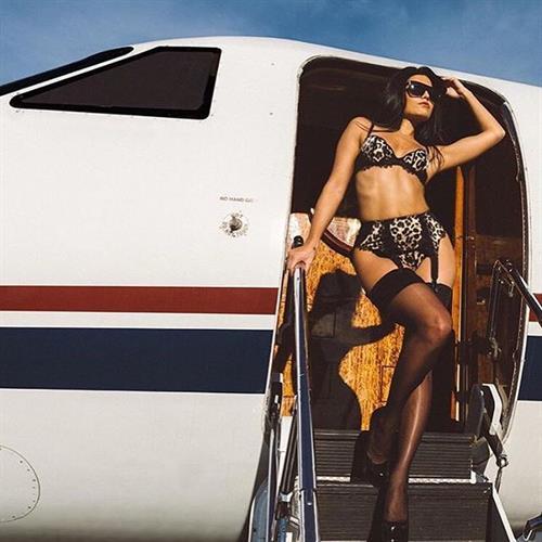 Mónica Alvarez in lingerie