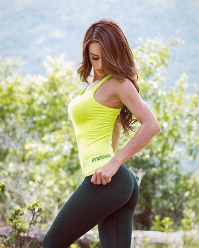 Anonymous in Yoga Pants - ass
