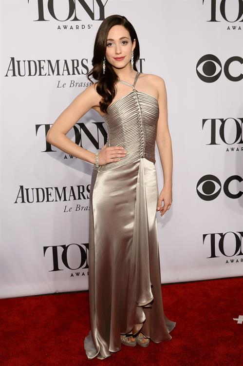 Emmy Rossum at 68th Annual Tony Awards at Radio City Music Hall June 8, 2014
