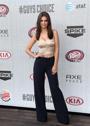 Emily Ratajkowski at Spike TVs Guys Choice 2014 June 7, 2014
