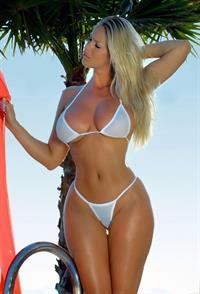 Adele Stephens in a bikini