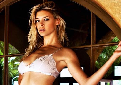 Kelly Rohrbach in lingerie
