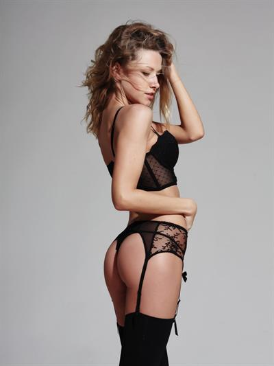 Olga Alberti in lingerie - ass