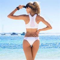Sheridyn Fisher in a bikini - ass