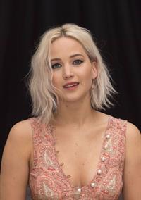 Jennifer Lawrence attending X-Men Apocalypse Press Conference in London on May 9, 2016