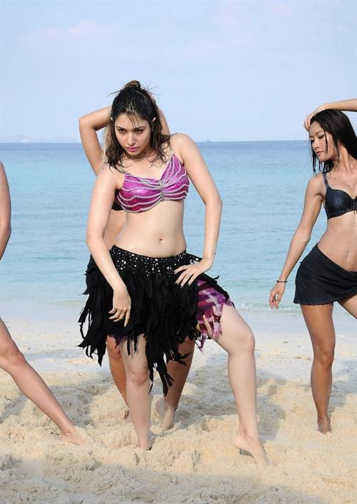 Tamannaah Bhatia in a bikini