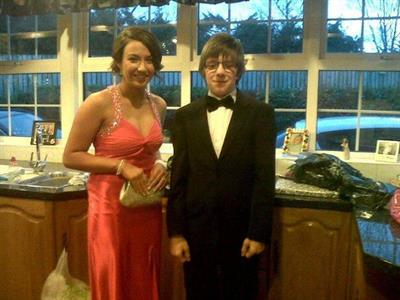 me ( the boy) and my formal date