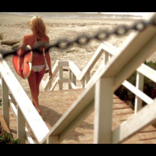 Caitlin Arnett in a bikini - ass