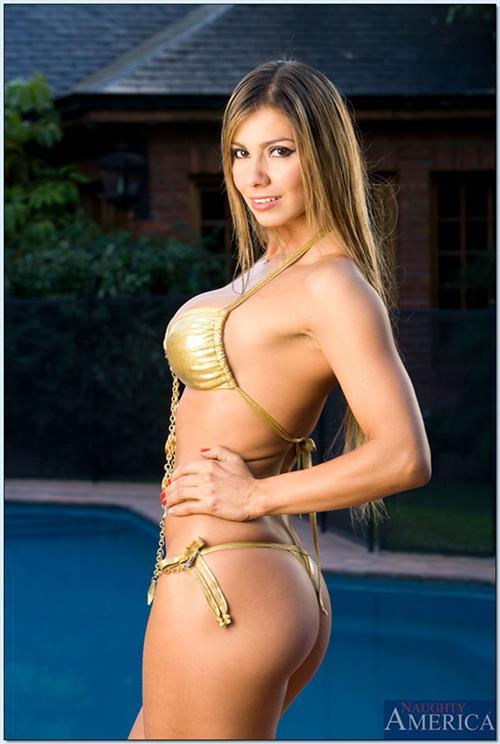 Esperanza Gómez in a bikini