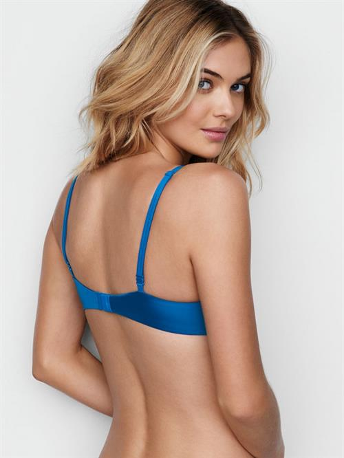 Megan Williams in lingerie