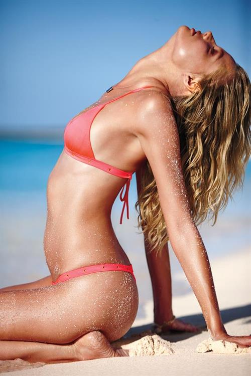 Magdalena Frackowiak in a bikini