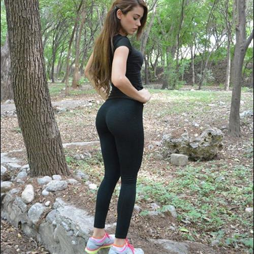 Yanet Garcia in Yoga Pants - ass