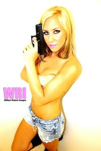Mary w/Gun - Copyright WilliamRobert Images