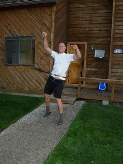teaching a hula hoop how to dougie