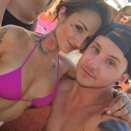 Brin Amberlee in a bikini