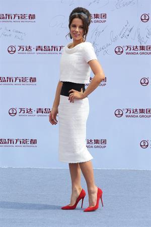 Kate Beckinsale Qingdao Oriental Movie Metropolis launch in Qingdao, September 22, 2013