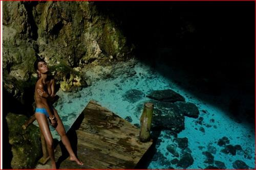 Cris Urena in a bikini