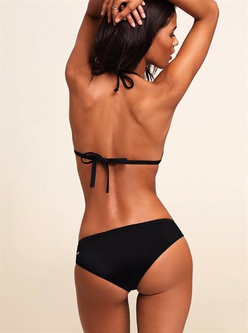 Cris Urena in a bikini - ass