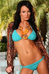 Alektra Blue in a bikini