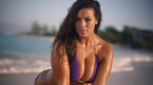 Ashley Graham in a bikini