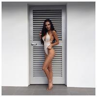 Jazmin Fernandez in a bikini