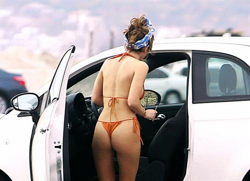 Bella Thorne bikini photo shoot on Zuma beach