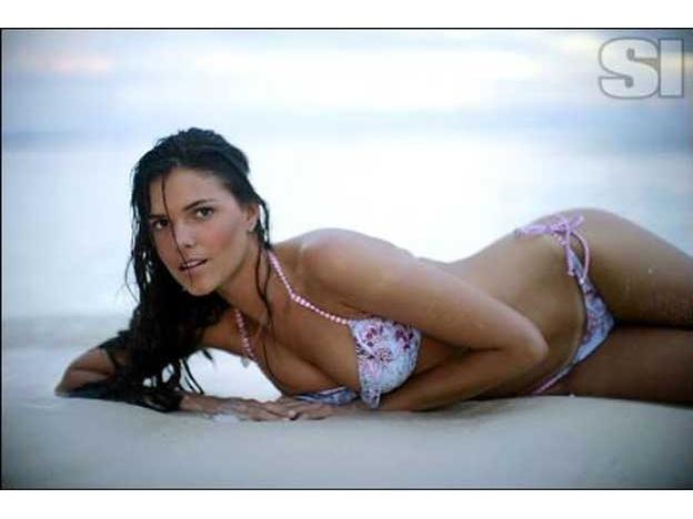 Marta Menegatti in a bikini