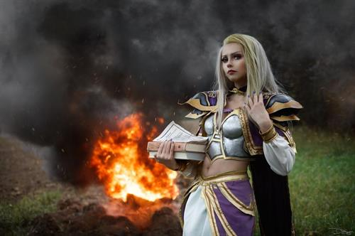 Denika Kiomi as Jaina Proudmoore