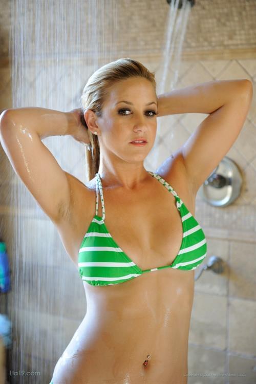 Lia Leah in a bikini