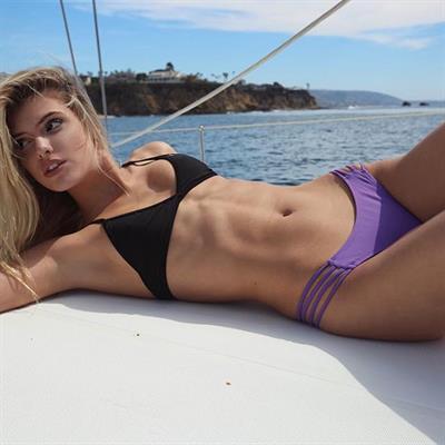 Alissa Violet in a bikini