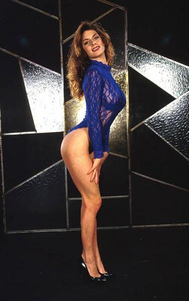 Nikki Dial in lingerie