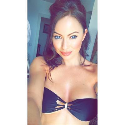 Laura Carter in a bikini