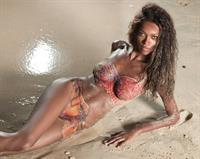 Jessica White in body paint