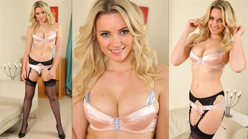 Stacey Massey in lingerie