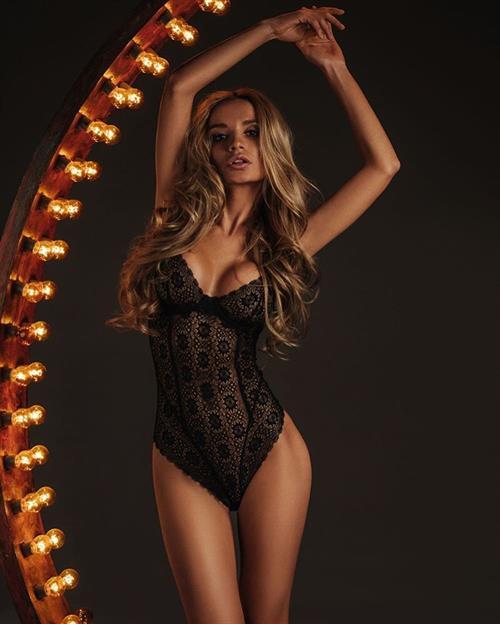 Ekaterina Zueva in lingerie