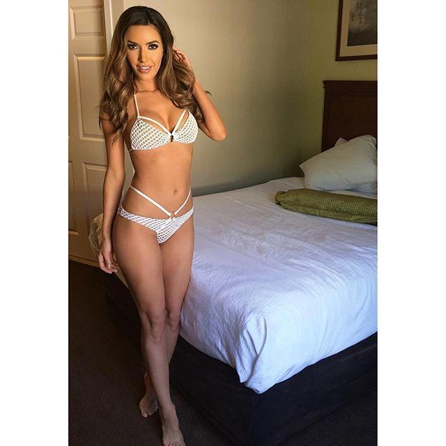 Mercedes Terrell in lingerie