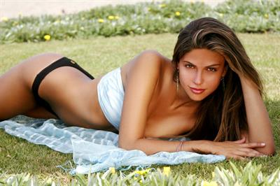 Stephany Cayo in a bikini