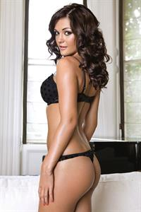 India Reynolds in lingerie - ass
