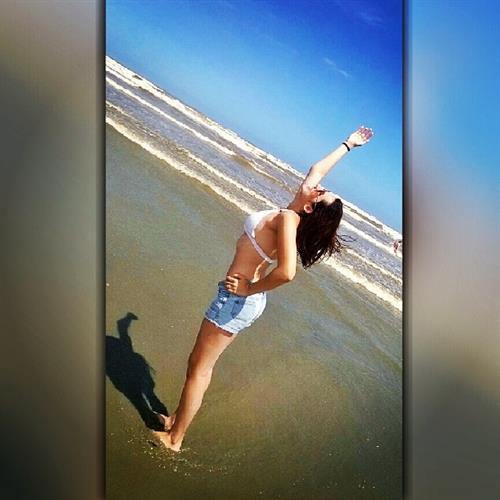 Veronica Rangel in a bikini
