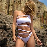 Sara Jean Underwood in a bikini