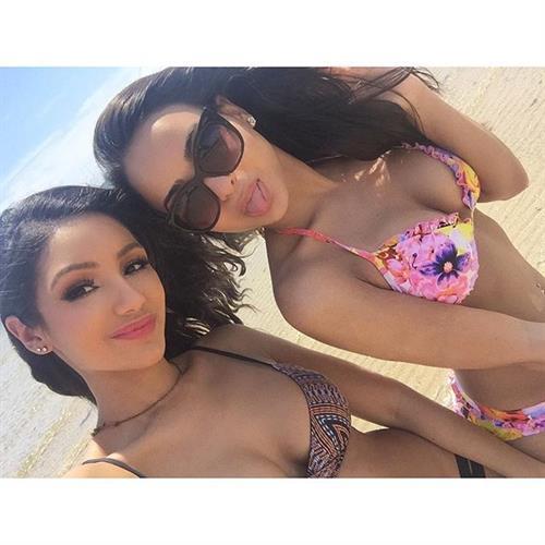Lisa Ramos in a bikini