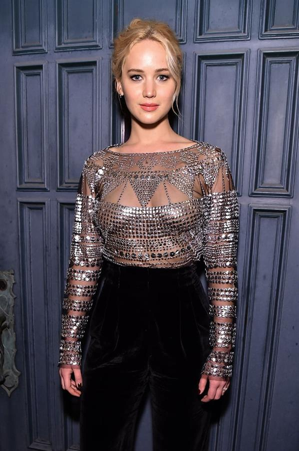 Jennifer Lawrence during Charity Gala